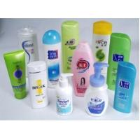 Plastic Self-adhesive Printed Labels in Cosmetics Bottle