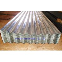 Buy cheap Cold Rolled Galvanized Corrugated Steel Roof Sheets SGCC, DX51D, DX52D, JIS3310 product