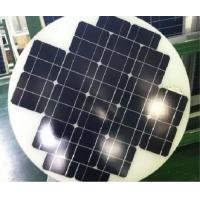 Buy cheap Mono Cystral 40W Round Solar Panels , Hot Air Solar Panels Triple Layer Back from wholesalers
