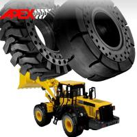 Buy cheap APEX 26.5-25 Solid Tire, Cushion Tyre for Wheel Loader, Integrated Tool Carrier, Elevating Motor Scraper product