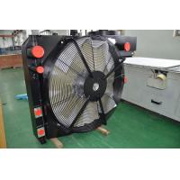 Buy cheap Heavy duty bar & plate air to air Heat Exchanger with fan cooling kit for Agriculture Machinery product