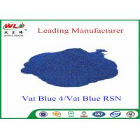 Buy cheap High Stability Indigo Blue Dye Textile Dyeing Chemicals Water Resistant product