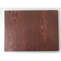 Buy cheap Fireproof  PVC Garage Wall Panels With Wooden Lamination Width 40cm product