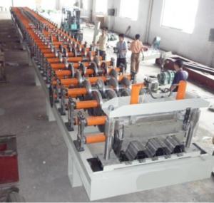 YX144-200-600 Floor Deck Forming Machine, H Beam Steel Deck Roll Forming Machine