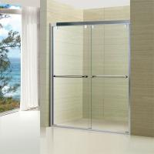 Buy cheap Easy Clean Sliding Door 6mm Glass Bathroom Shower Room Enclosure product