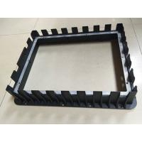 Buy cheap Front Bezel Housing Black Painting Die Casting Parts Customized Aluminum from wholesalers