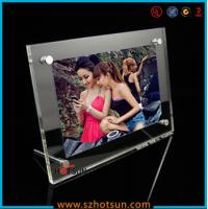 Buy cheap acrylic photo strip frames/ acrylic photo frames 4x6 product
