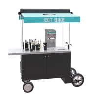 Buy cheap Hot Dog Ice Cream Wear Resistant 4500W Food Vending Cart product