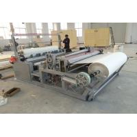 Buy cheap Rewinding Fabric Roll Cutter Slitting Machine Perforating For Nonwoven Fabric SMS SMMS product