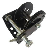 Buy cheap Black Color 600lb Manual Winch With Brake, Portable Hand Crank Winch from wholesalers