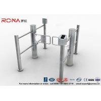 Buy cheap Pedestrian Entrance Automatic Swing Barrier Gate Access Control System With 304 stainless steel product