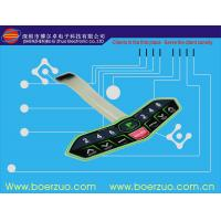 Buy cheap Abrasion Resistant Touch LED Membrane Switch Keypad With Metal Dome product