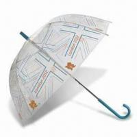 Buy cheap London 2012 Union Flag Clear Dome Umbrella, Made of Recycled Polyester product