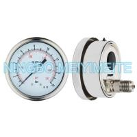 Buy cheap Stainless Steel Material Welding Oil Filled Pressure Gauge Matte / Polish product