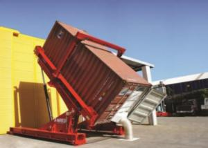 Buy cheap Hydraulic SS304 40ft ISO Bulk Truck Unloading System product
