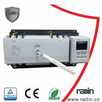 Buy cheap 200 Amp Manual Transfer Switch 100A To 1250A With Auto Recovery Hotels 60Hz product
