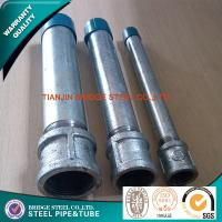 Buy cheap EFW Structural Hot Dipped Galvanized Steel Pipe For Gas Line Q235 product