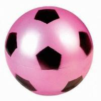 Buy cheap 25cm PVC Toy Ball Football Pattern Printing Swimming Pool Outdoor Toys product