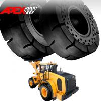 Buy cheap APEX 29.5-25 Solid Tire, Cushion Tyre for Wheel Loader, Integrated Tool Carrier, Elevating Motor Scraper product