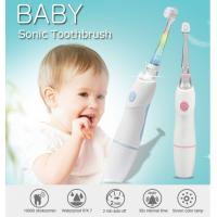 Buy cheap Baby Care Waterproof Kids Rechargeable Electric Toothbrush With Observing Lamp product