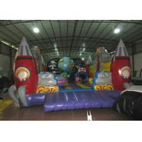 Custom Alien Spaceship Blow Up Bounce House , Little Tikes Inflatable Bounce House