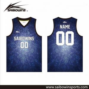 2016/2017 Factory Produce Custom Sublimation Best Basketball Uniform  Logo Design