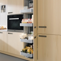 Soft Closing  Modular Cabinet Accessories Pull Out Wire Baskets For Kitchen Cabinets for sale