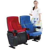 Buy cheap High Back Reclined Home Cinema Theater Chairs With Fireproof Fabric from wholesalers