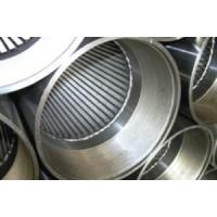 Buy cheap Wire Wrapped Screen,stainless steel wire mesh product