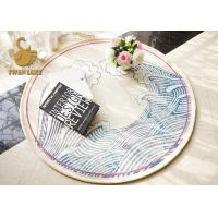 Buy cheap Commercial Grade Oriental Style Rugs Round Floor Mat Absorb Water Feature product