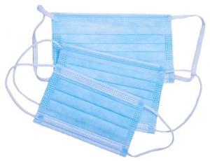 Buy cheap Good Filterability Disposable Earloop Mask , Anti Pollution Dust Mask product