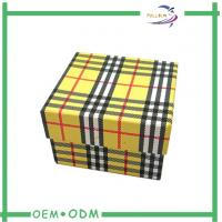 Buy quality Decorative Watch Storage Box Matte Lamination Handmade Rigid Packaging at wholesale prices