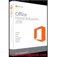 Buy cheap Microsoft Office Home And Business 2016 / Office Home & Business 2016 For Pc product