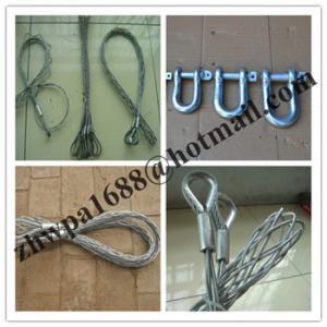 Buy cheap Single eye cable sock,Pulling grip,Cable socks,Pulling grip,Support grip product