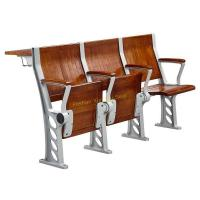 Buy cheap Walnut Plywood College Classroom Furniture / Student Study Table And Chair With from wholesalers