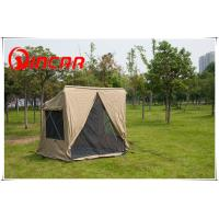 Buy quality canvas 4 square 1- 2person tent and Awning For outdoor camping sleep at wholesale prices