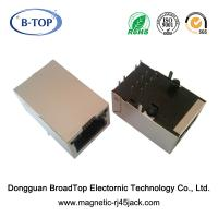 Buy cheap 1x1 RJ45 Single Port 10/100 Base-T RJ45 Connector With 5 Magnetic Cores product