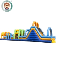 Buy cheap Customized size inflatable obstacle course race obstacle course inflatable from wholesalers
