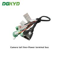 Surveillance Cameras Ethernet Cable Camera Tail Line With Power Terminal Bus