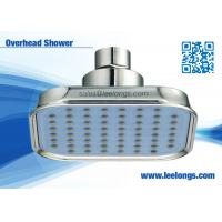 Buy quality Eco Luxurious Blue 100mm Overhead Shower Head Ceiling Rainfall For Hotel , Home at wholesale prices