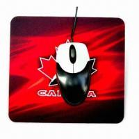 Buy cheap Mouse Pad, Available in Various Colors and Designs, Suitable for Promotional Purpose product