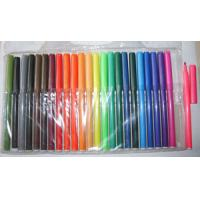 Buy cheap Promotional Colored Non Toxic Felt Tip Water Color Pen Fineliner Rollber Pen from wholesalers