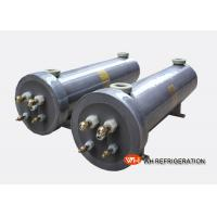 Buy cheap Swimming Pool Heat Pump Heat Exchanger , Vertical Shell And Tube Condenser product