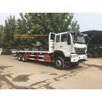 China 4x2 6 Tires Sinotruk Howo Flatbed Truck For 10- 20T Load Capaicty LHD on sale