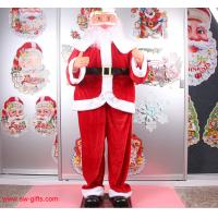 Electric Christmas old man music Santa Claus 160cm Outdoor Christmas Decoration