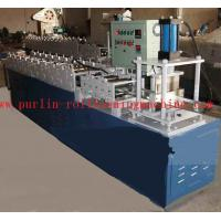Buy cheap Color Steel T Bar Roll Former Machine for Bar Gusset Plate / Light Steel Keel product