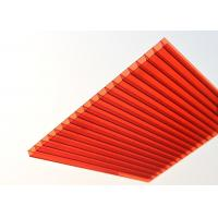 Buy cheap Embossed Polycarbonate Flat Sheeting / Greenhouse Polycarbonate Roof Panels product