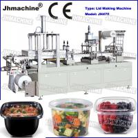 Polypropylene tranparent sheet cup lid Automatic Plastic Thermorforming Machine food grade