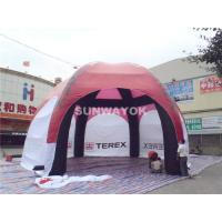 210D Nylon Dome Inflatable Tent With 6 Spider Legs For Advertising / Promotional Events