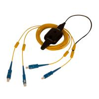Buy cheap Multi Mode OM2 Fiber Optic Patch Cable FC To FC Duplex Tracer Light Durable product